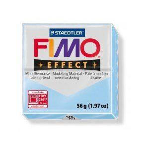 Modelovacia hmota FIMO Effect termotvrdnúca - 56 g - Pastelová Svetlomodrá (kreatívne potreby)