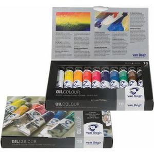 Olejové farby Van Gogh START Set 10x20ml (sada olejových farieb Royal Talens)