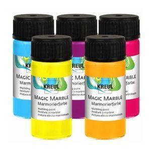 Farba na mramorovanie HOBBY Line Magic Marble Metallic 20 ml - Metallic Green (farba na mramorovanie)