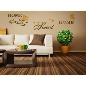 Šablóna na stenu Home Design BRICO XXL - Sweet Home (Home Design - C. Kreul)