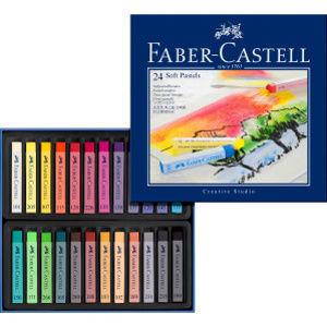 Suchý pastel Gofa set 24 farebný (Faber Castel - Suchý pastel)