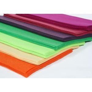 Dekoračný filc syntetický 20x30 cm / yellow (Filc na výrobu dekorácií A4)