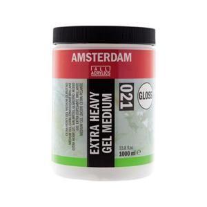 Lesklé medium AMSTERDAM Extra Heavy 1000ml (umelecké potreby Royal Talens)