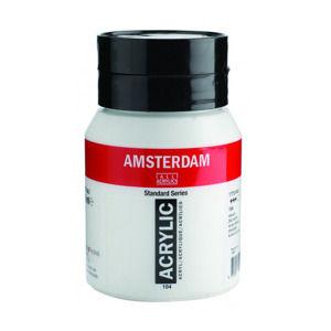 Akrylová farba Amsterdam Standard Series 500 ml / 104 Zinc White (akrylová farba Royal Talens)