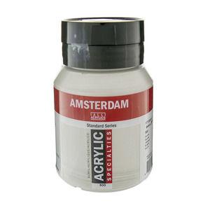 Akrylová farba Amsterdam Standard Series 500 ml / 800 Silver (akrylová farba Royal Talens)