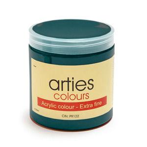 Akrylová farba Arties Colours 250 ml - Phthalocyanine Turquiose (Akrylové farby Česká výroba)