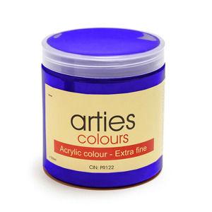 Akrylová farba Arties Colours 250 ml - Ultramarine Blue (Akrylové farby Česká výroba)