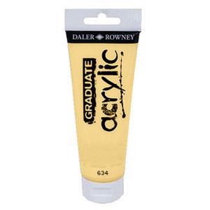 Akrylová farba Daler-Rowney GRADUATE 120 ml / 634 Naples yellow (akrylová farba Daler-Rowney Graduate)