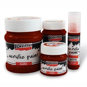 Akrylová farba matná - 230 ml / 4118 bourdon (akrylové farby PENTART)