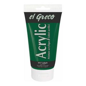 Akrylová farba El Greco 150 ml Foliage Green  (Akrylová farba El Greco 150 ml)