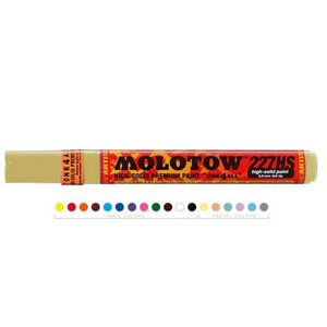 Akrylové fixky MOLOTOW - ONE4ALL 4mm - Vanila Pastel (Acrylic Marker MADE IN GERMANY)