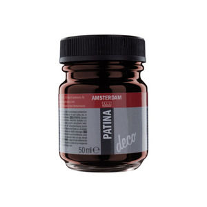 Amsterdam patinovacia farba PATINA DECO 50ml -  antique red (PATINA DECO)