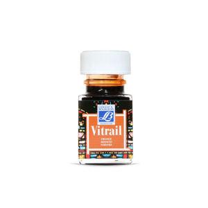 Farba na sklo VITRAIL 50ml - Orange (farby na sklo)