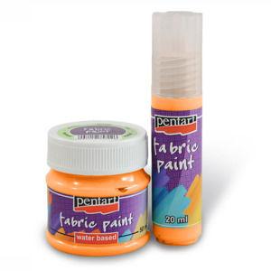 Farba na textil PENTART - 20 ml - sun-yellow (Farby na textil Pentart)