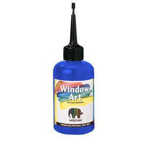Farby na sklo Window Art 80ml - kobaltová modrá ( farba na sklo Nerchau)