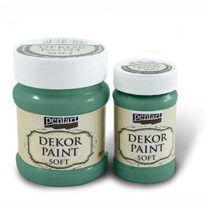 Jemná dekoračná farba 100 ml - Turquoise Green (Dekoračné farby Pentart)