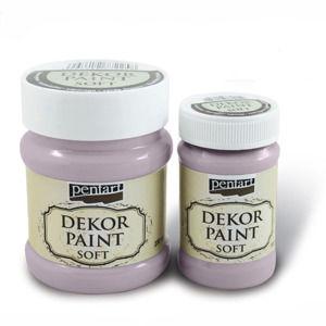 Jemná dekoračná farba 100 ml - victorian pink (Dekoračné farby Pentart)