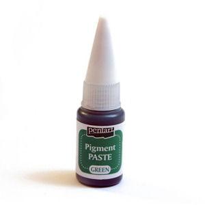 Pigmentová pasta Pentart 20 ml Green (Pigmentová pasta 20 ml)